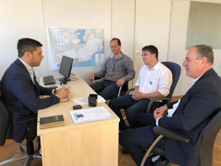 Poder Executivo se reuniu com o Secretário de Estado das Cidades.