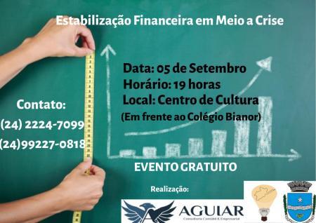Workshop Empresários: Estabilização Financeira.