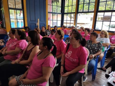 Outubro Rosa na Secretaria de Ação Social.