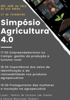 Simpósio Agricultura 4.0.