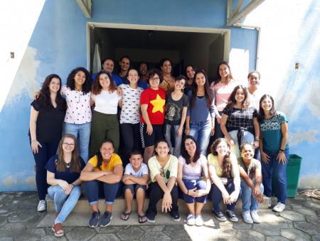 O Projeto Férias Solidárias foi um sucesso.