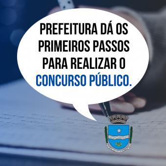 Prefeitura dá os primeiros passos para realizar o concurso público.