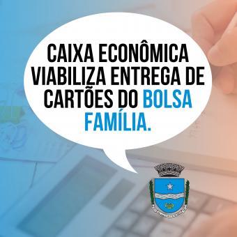 Caixa Econômica viabiliza entrega de cartões do auxilio emergencial.