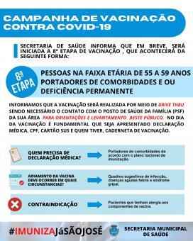 Campanha de vacinação contra COVID-19 (8ª Etapa)