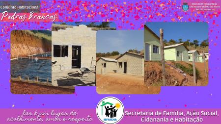 Entrega das Chaves, Assinatura do Contrato das Casas do Conjutno Habitacional Renascer