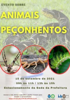 Evento sobre Animais Peçonhentos