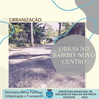 Urbanização nos Bairros